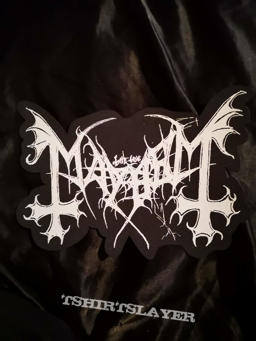 Mayhem - Big Logo Patch