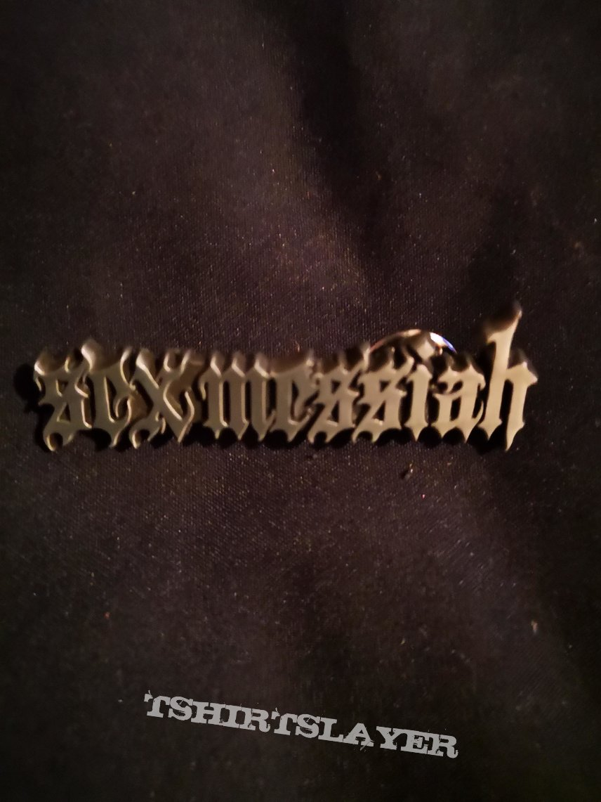 Sex Messiah - Logo Pin