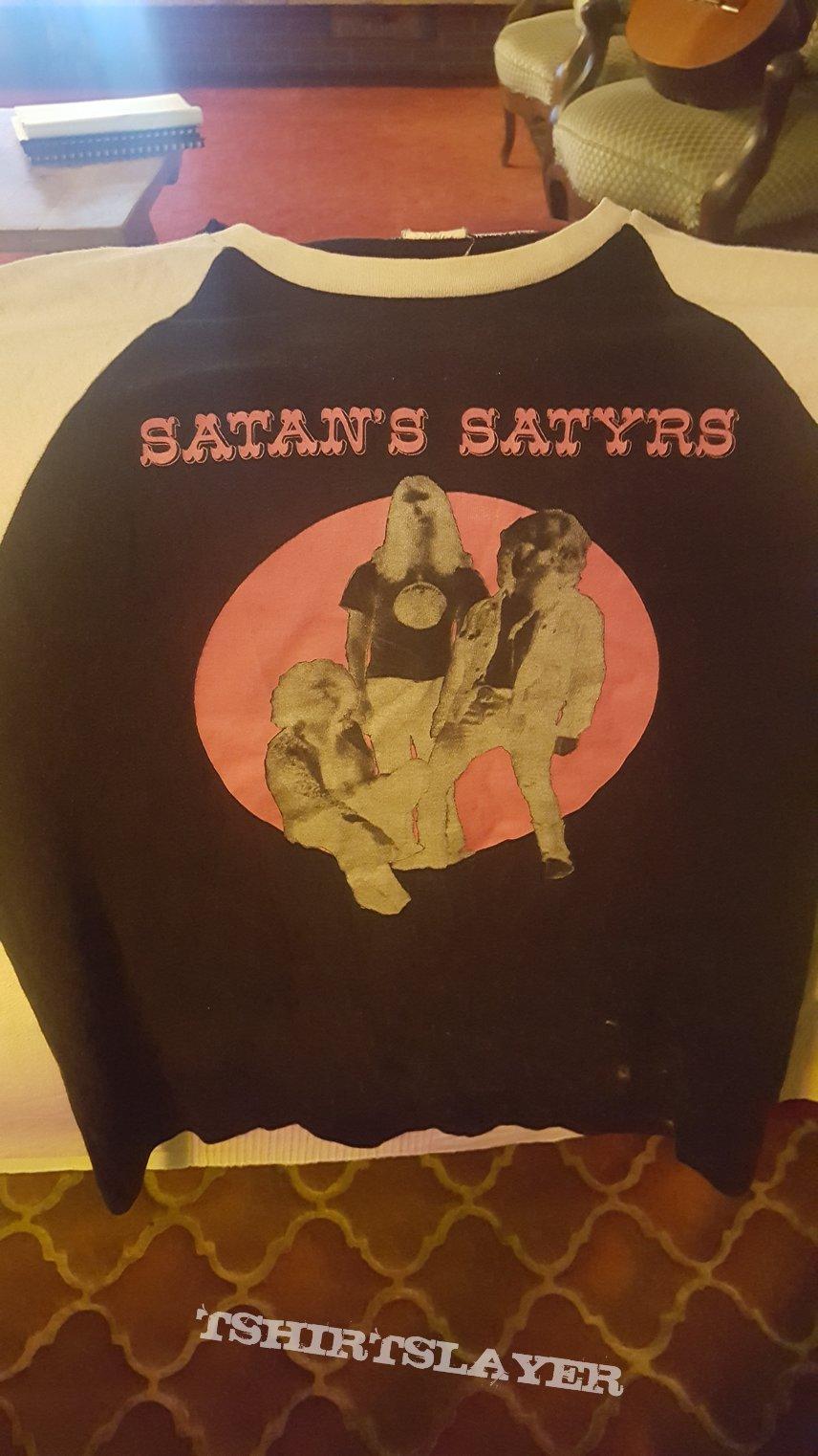 (In memory of) Satan's Satyrs -Black Souls Baseball t shirt M (rare one)