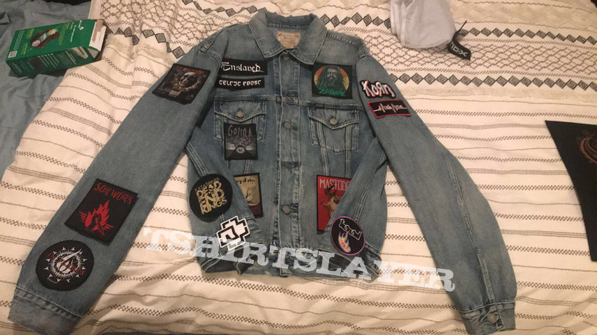 Beginnings of a jacket