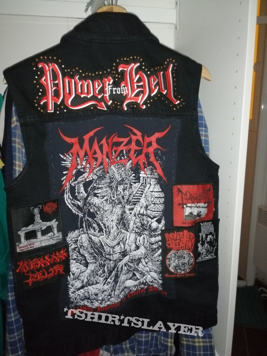 Back of battle jacket