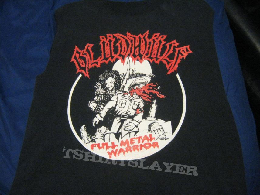 Bludwulf - Full Metal Warrior shirt