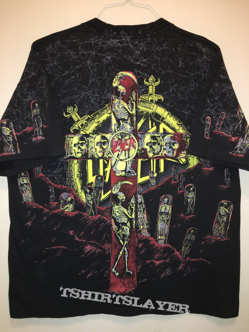 Slayer 'Seasons in the Abyss' All-Over Print Shirt