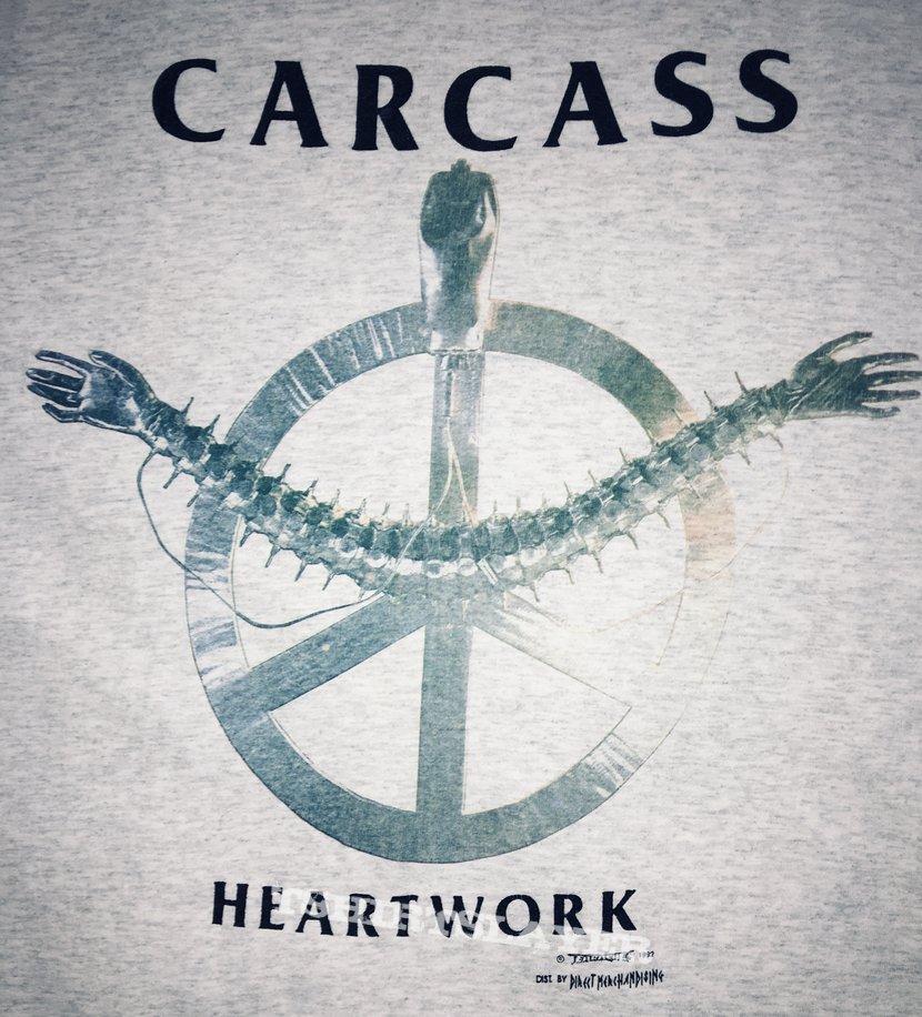 Carcass 'Heartwork'  tshirt