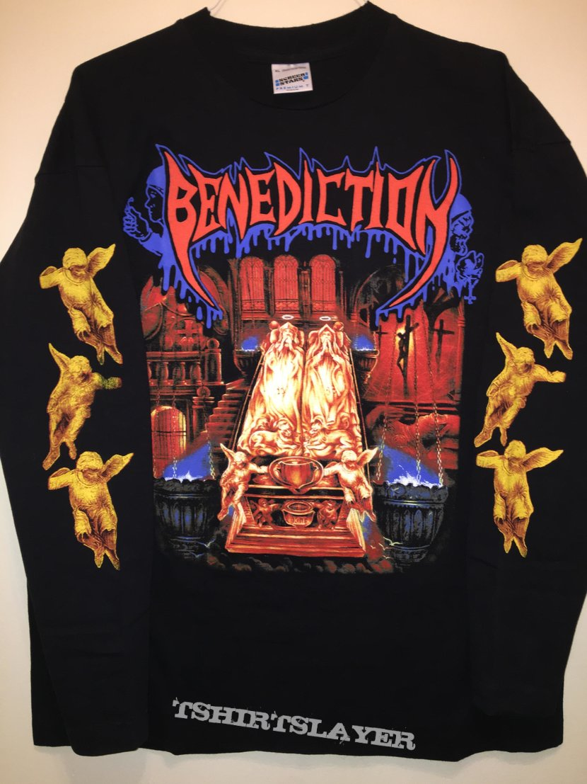"Benediction Rare ""World Domination/Chapter II"" L/S Shirt"
