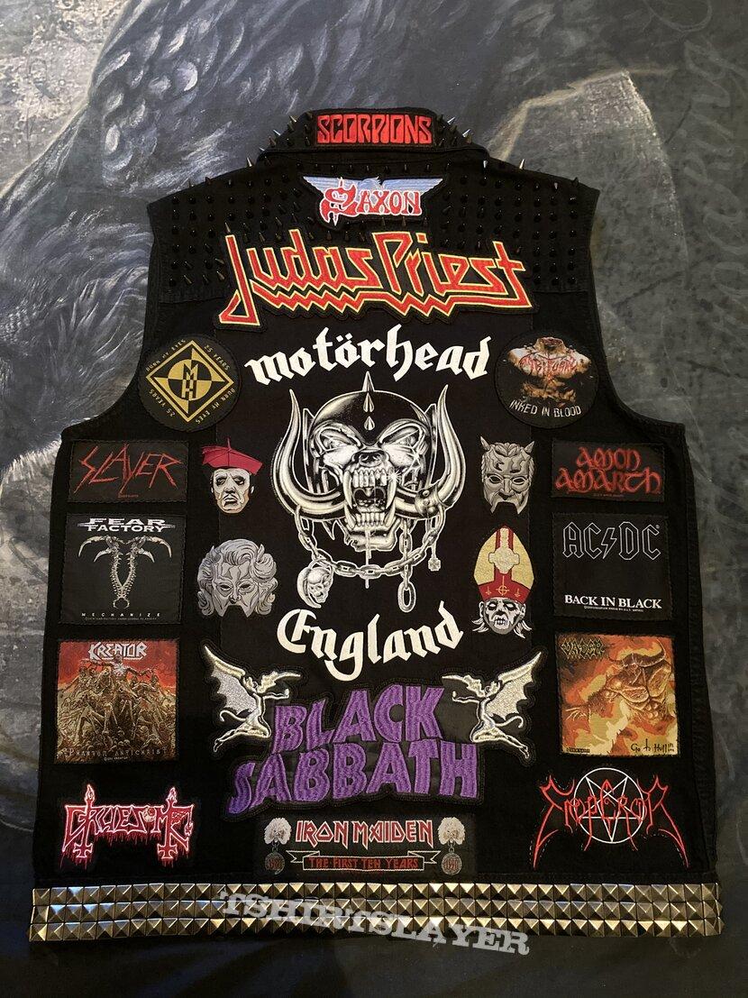 My latest battle jacket