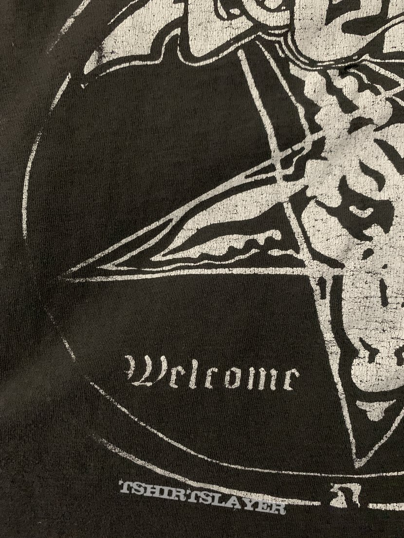 90s Venom Welcome To Hell T-shirt