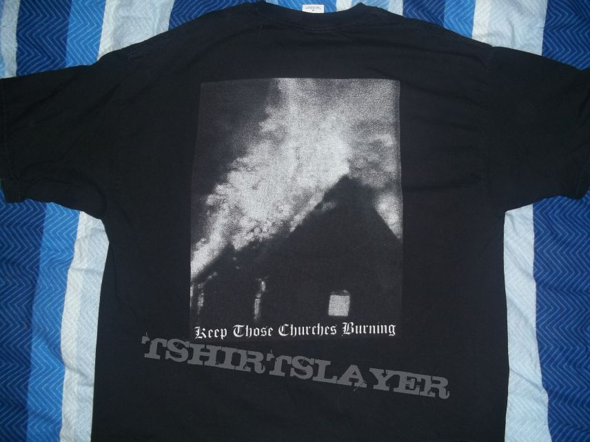 Angantyr Keep Churches Burning TShirt