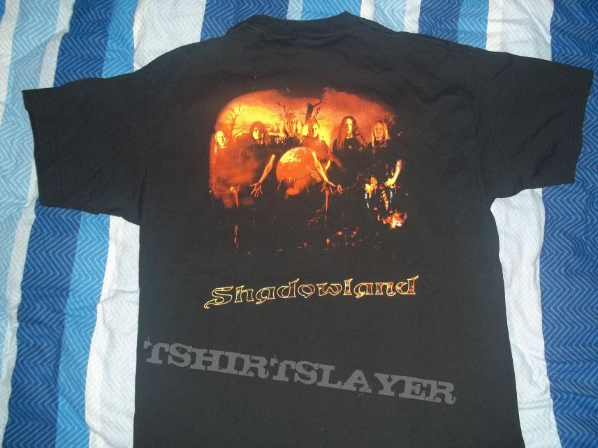"Nocturnal Rites ""Shadowland"" Shirt"