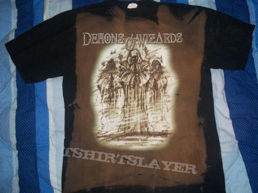 Demons And Wizards Batik Shirt