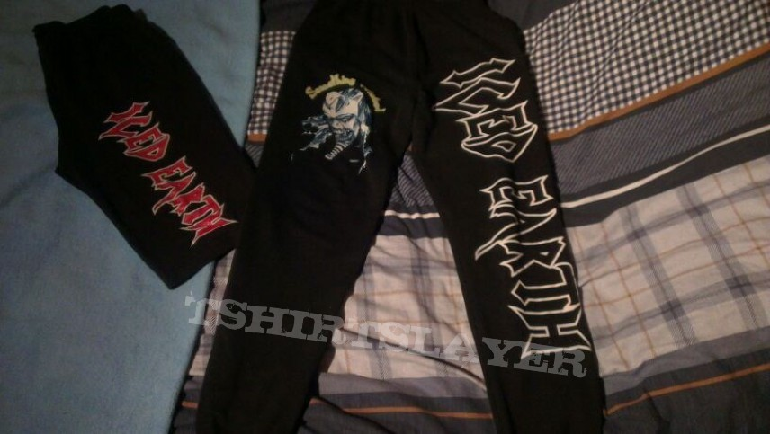 Iced Earth jogging pants