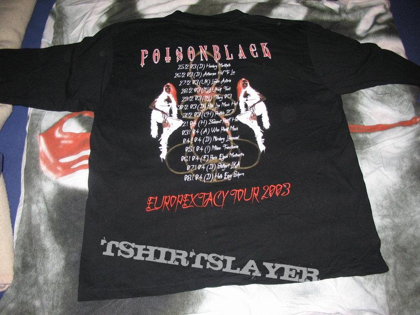 Poisonblack Exciter / Escapextasy Tour 2003 Longsleeve