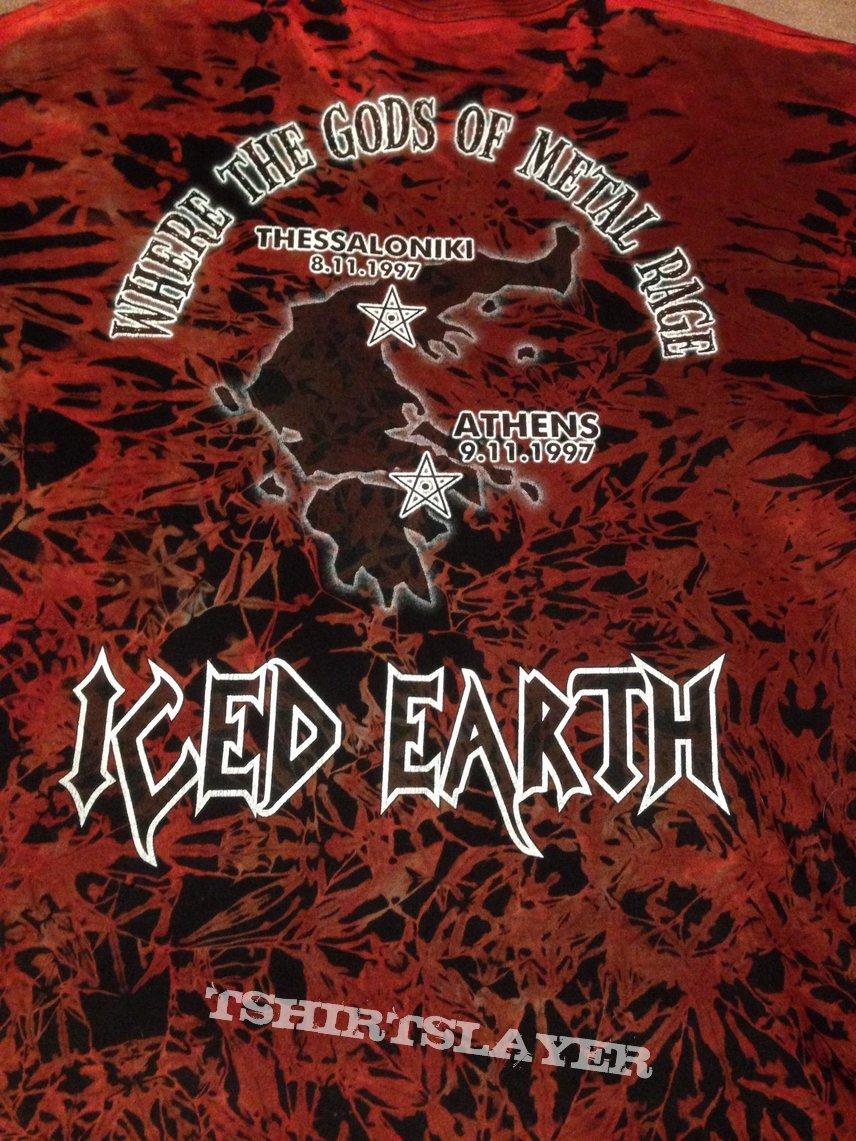 Iced Earth Shirt Greece tour 1997