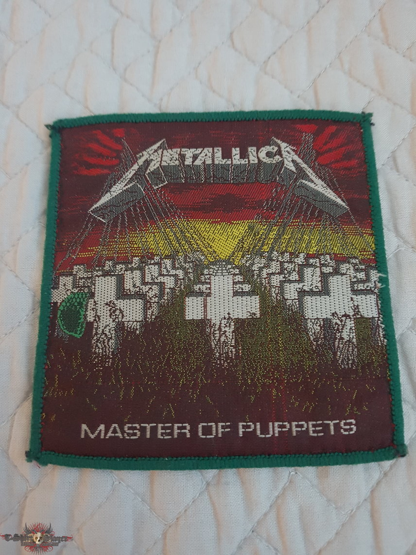Master of Puppets vintage patch