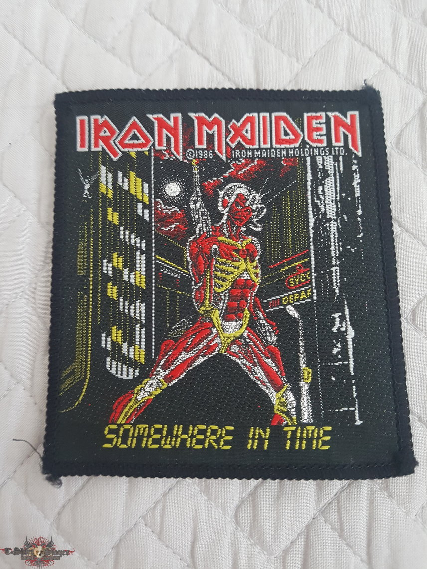 Somewhere In Time vintage patch