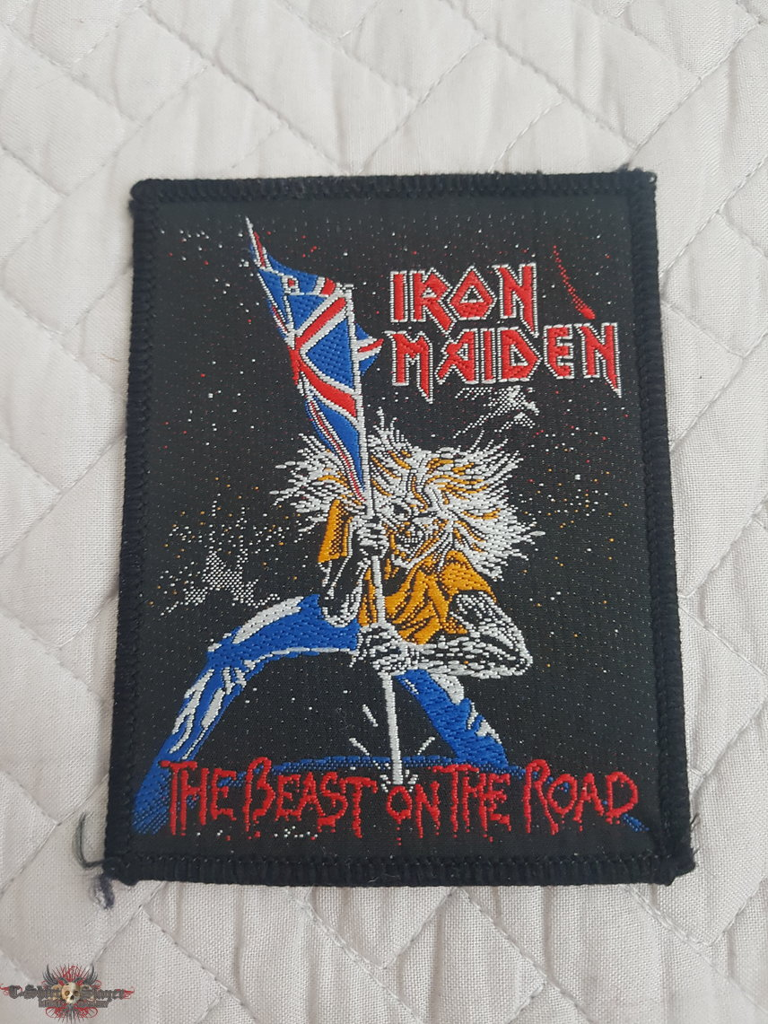 The Beast on the Road vintage patch