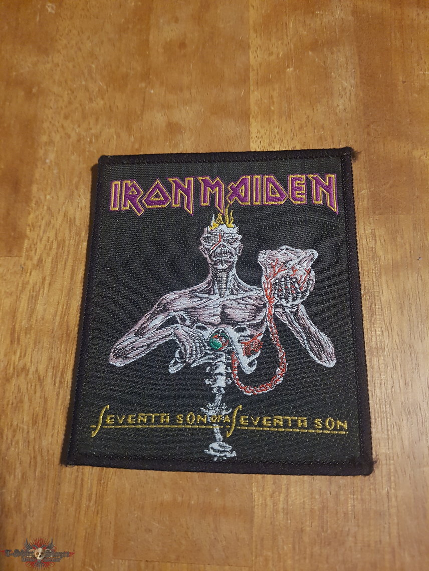 Seventh Son of a Seventh Son vintage patch