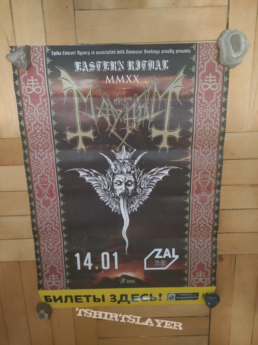Mayhem - Eastern Ritual Tour Poster