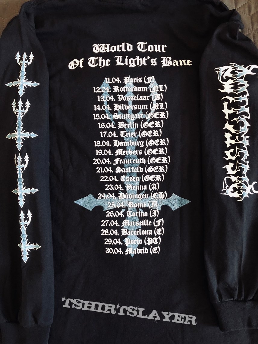 "DISSECTION - ""World Tour Of the Light`s Bane"" longsleeve"
