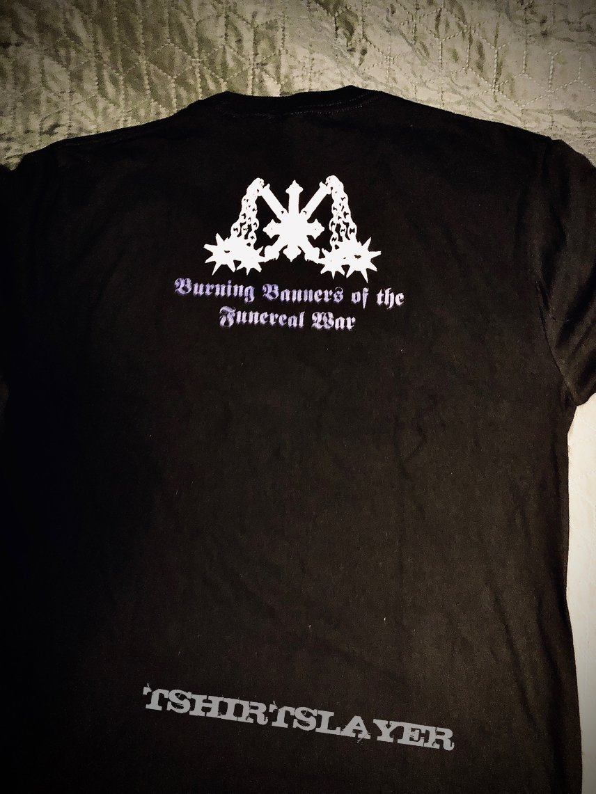 "WARMOON LORD - ""Burning Banners of the Funereal War"" tshirt"