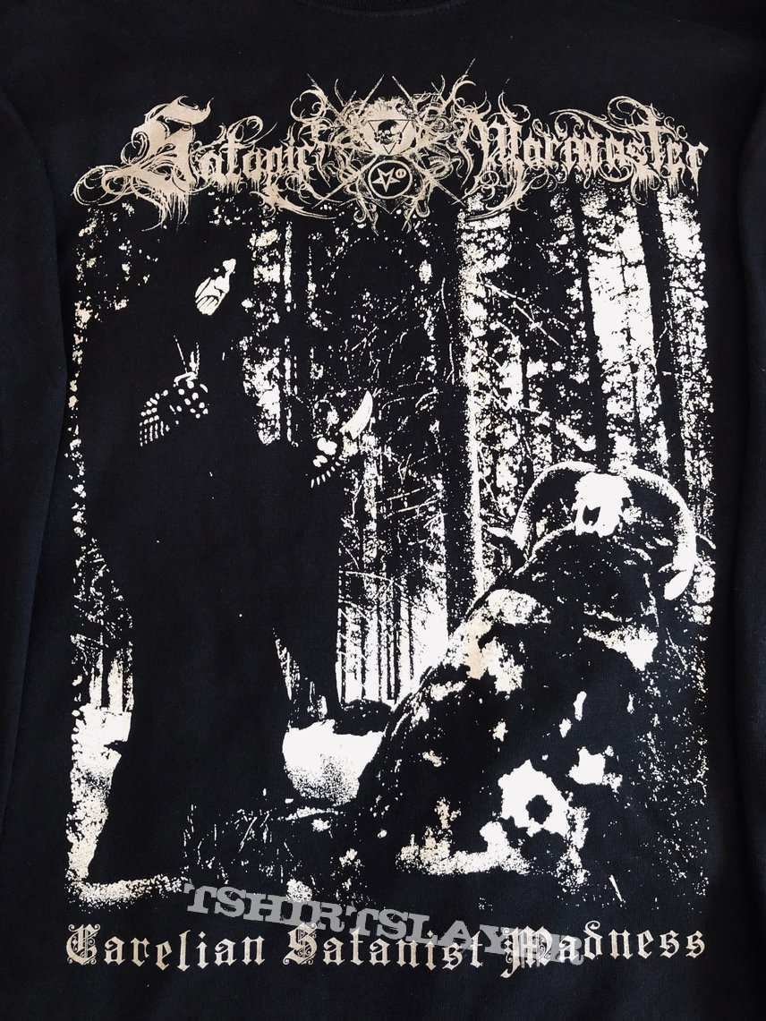 "SATANIC WARMASTER - ""Carelian Satanist Madness"" official LS"
