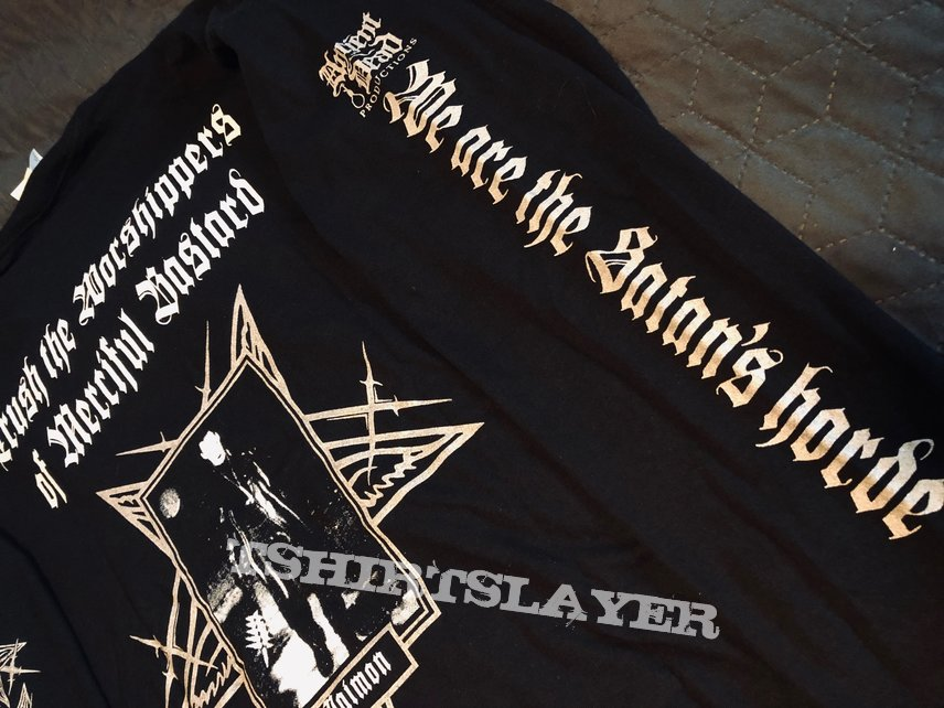 """THUNDERBOLT - """"The Buring Deed of Deceit"""" official lonsleeve"""
