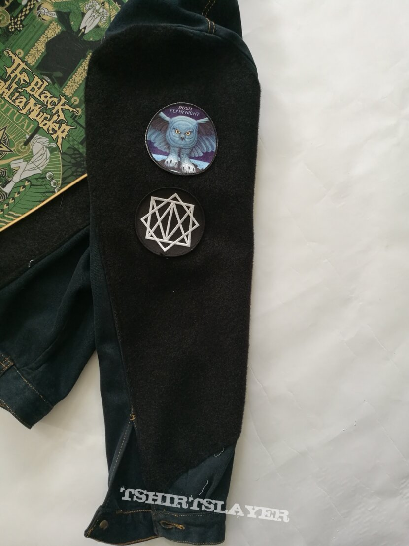 Velcro battle jacket