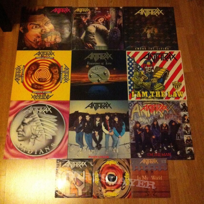 anthrax vinyl tshirtslayer tshirt and battlejacket gallery