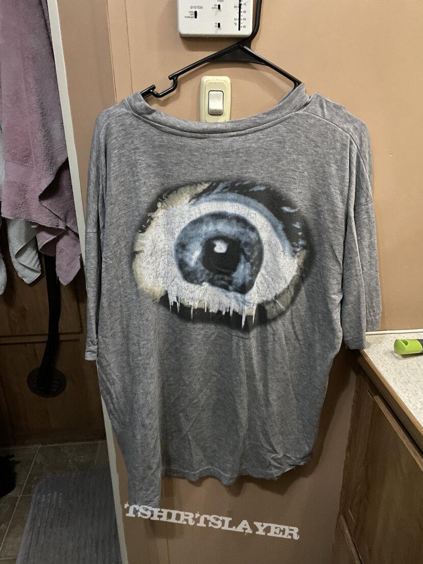 Death Symbolic Gray shirt 1995 Blue Grape Merchandising