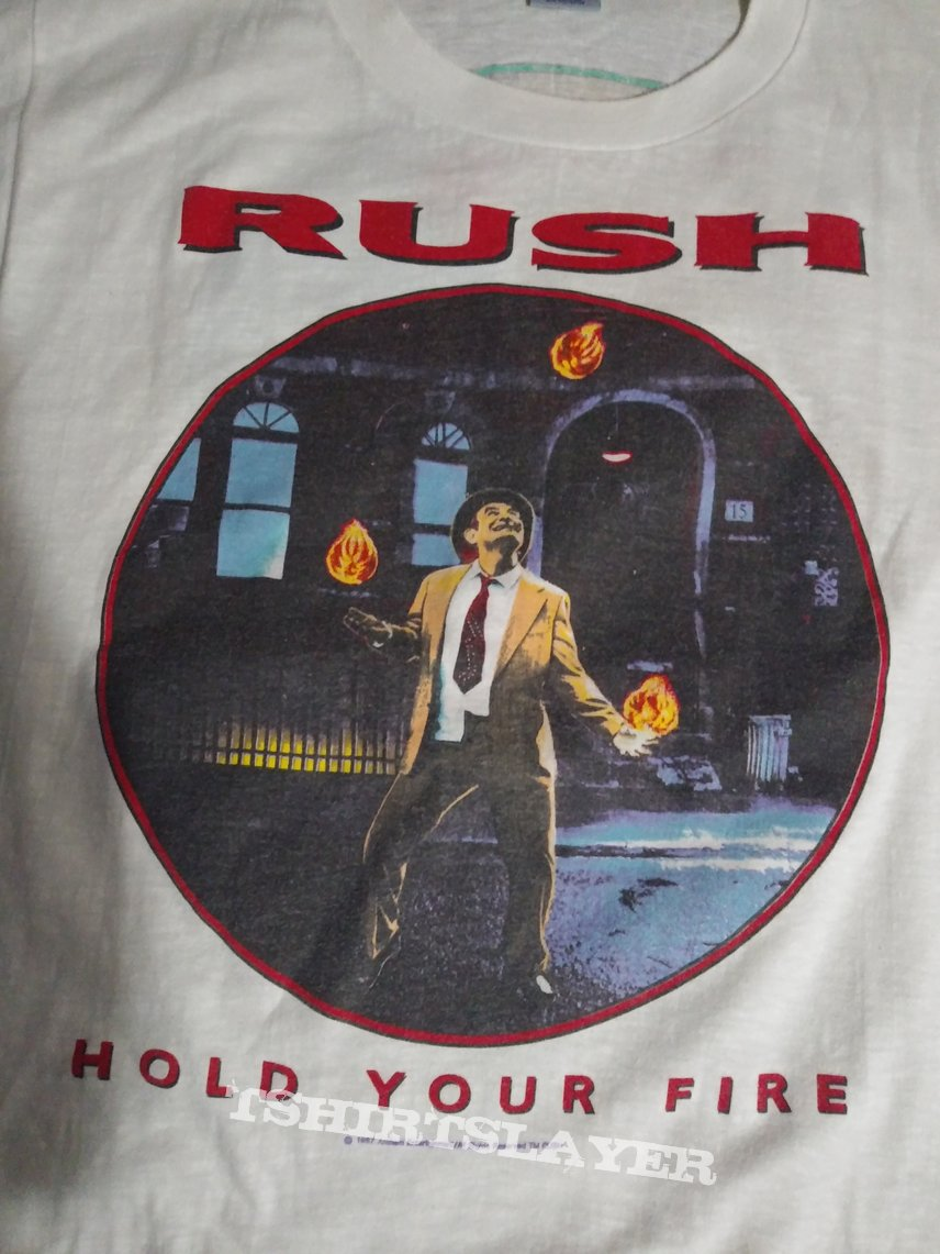 Rush hold your fire 1987