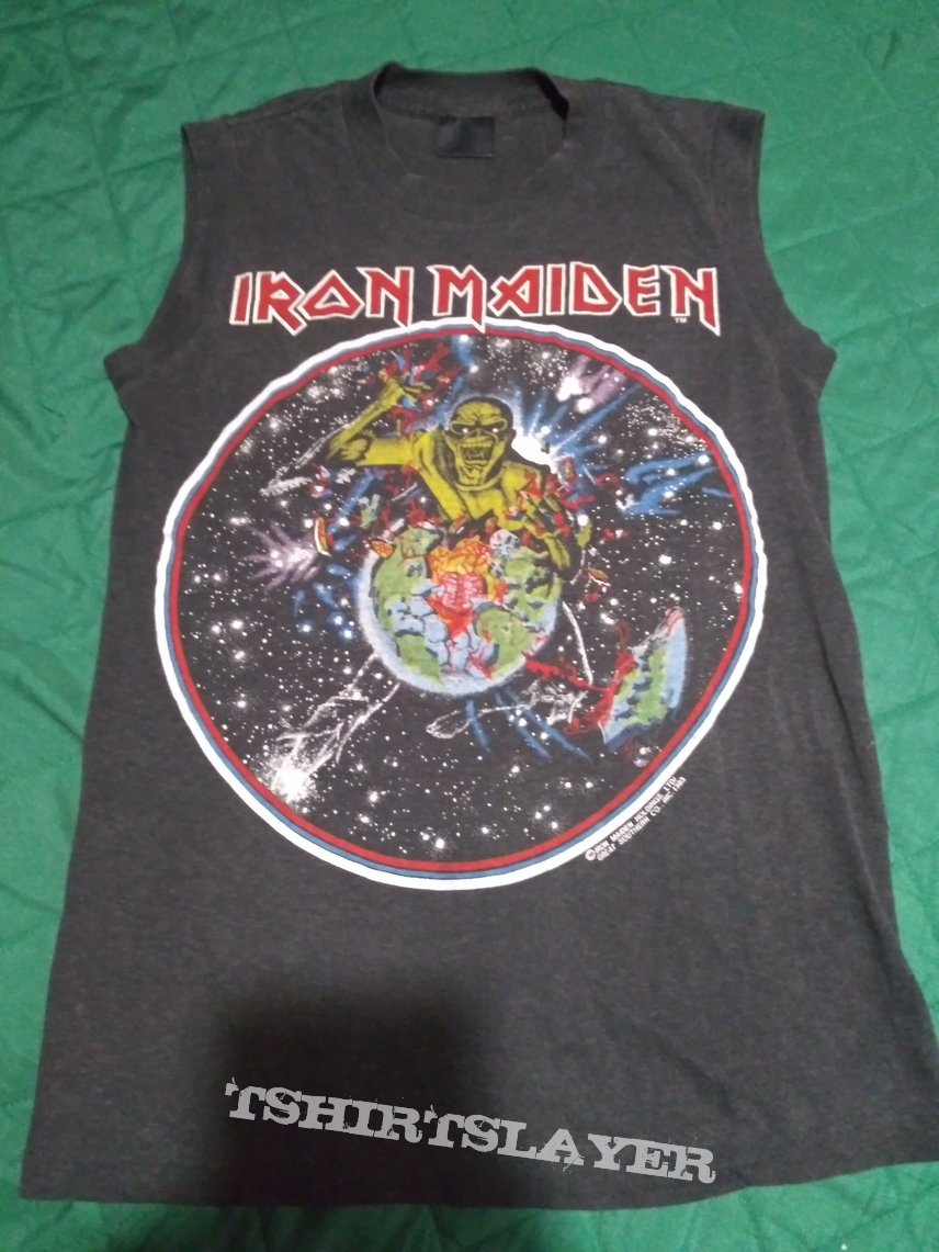Iron maiden world piece tour 1983