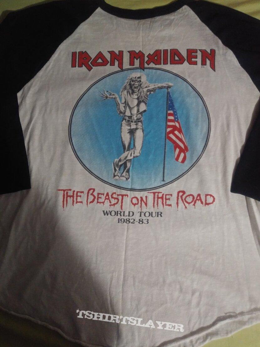 Iron maiden  World tour Beast on the road 82 83