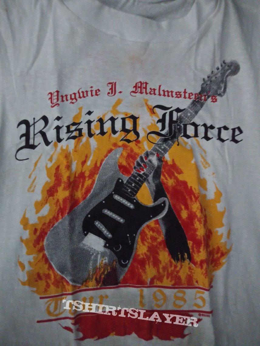Yngwie J. Malmsteen rising force 1985 tour