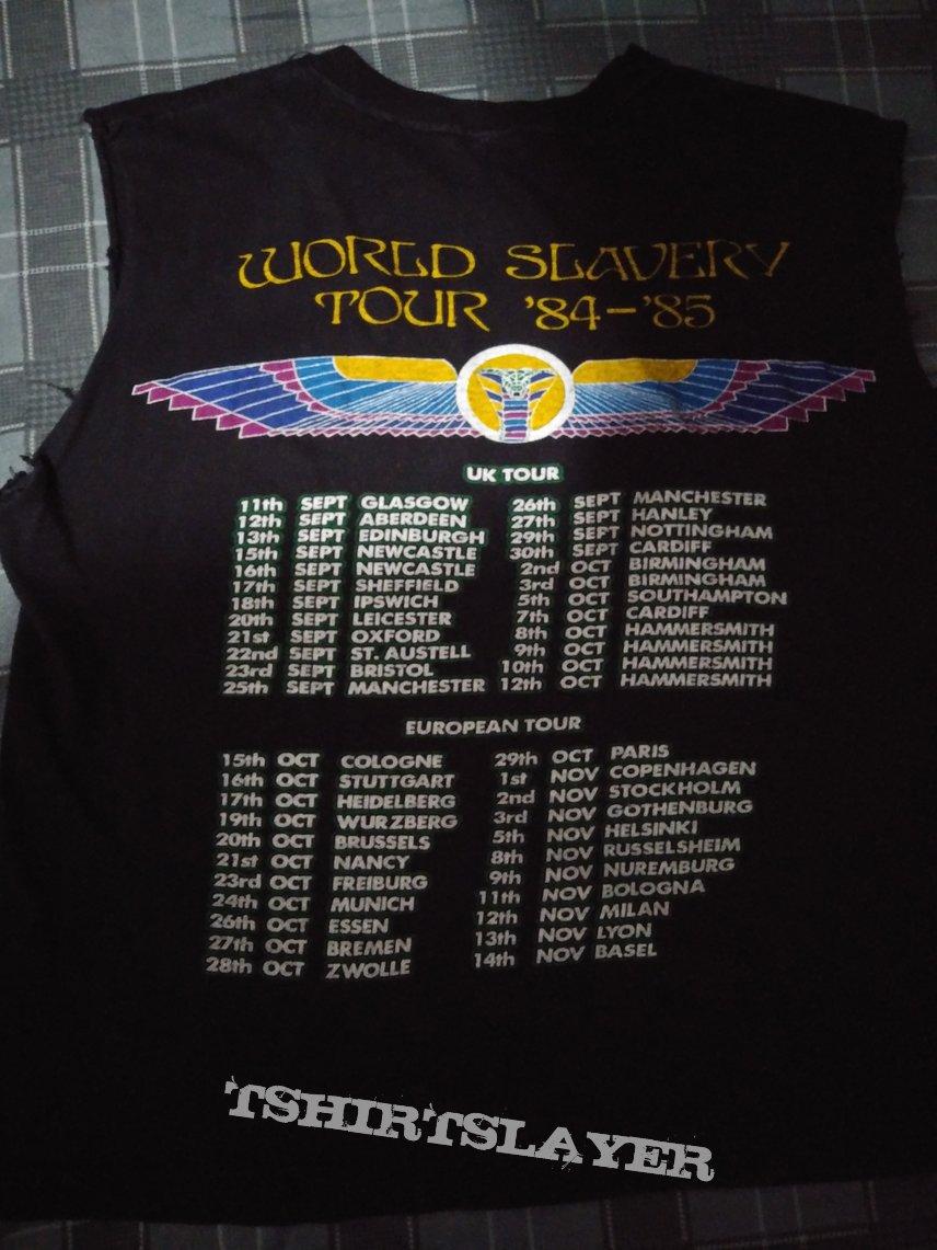 Iron maiden slavery European tour 1984