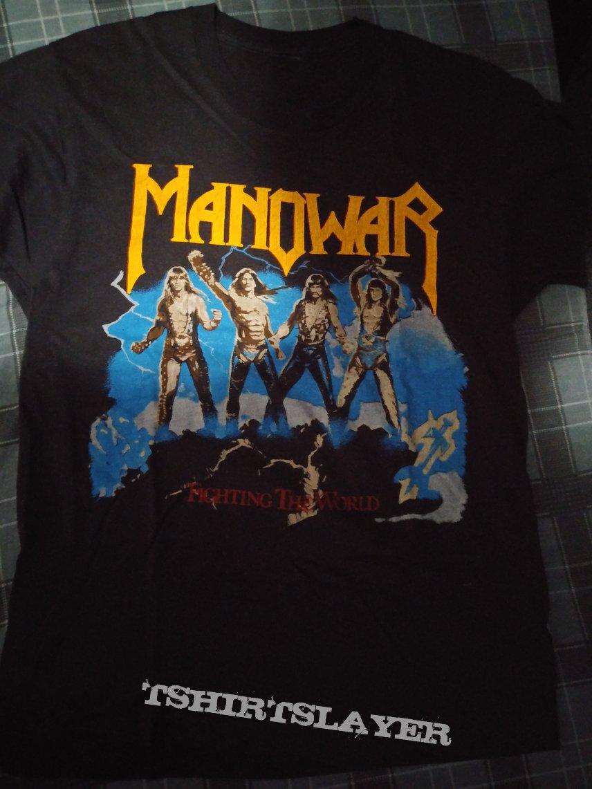 Manowar 1987 tour shirt
