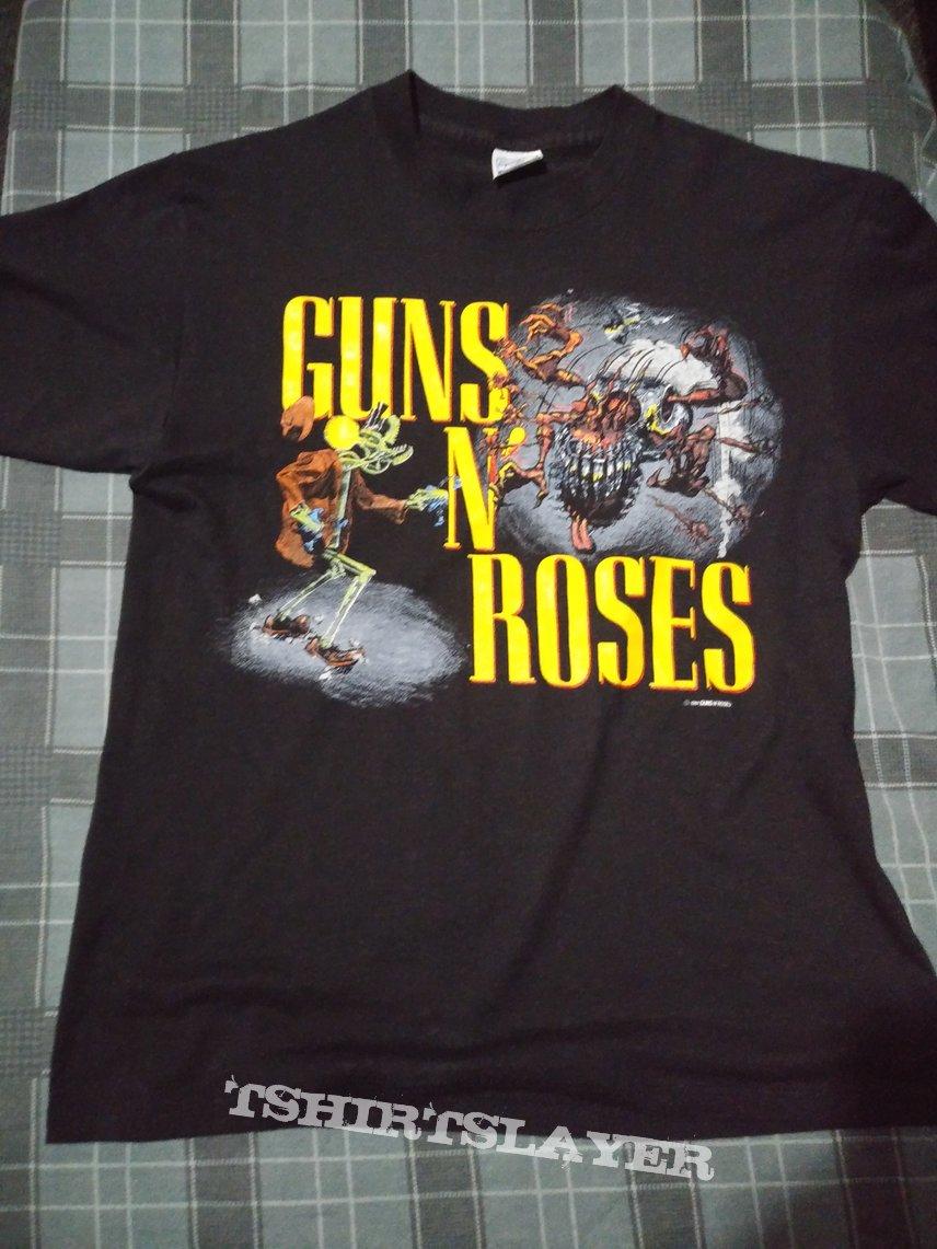 Guns N Roses 1987 Appetite For Destruction Tour Shirt