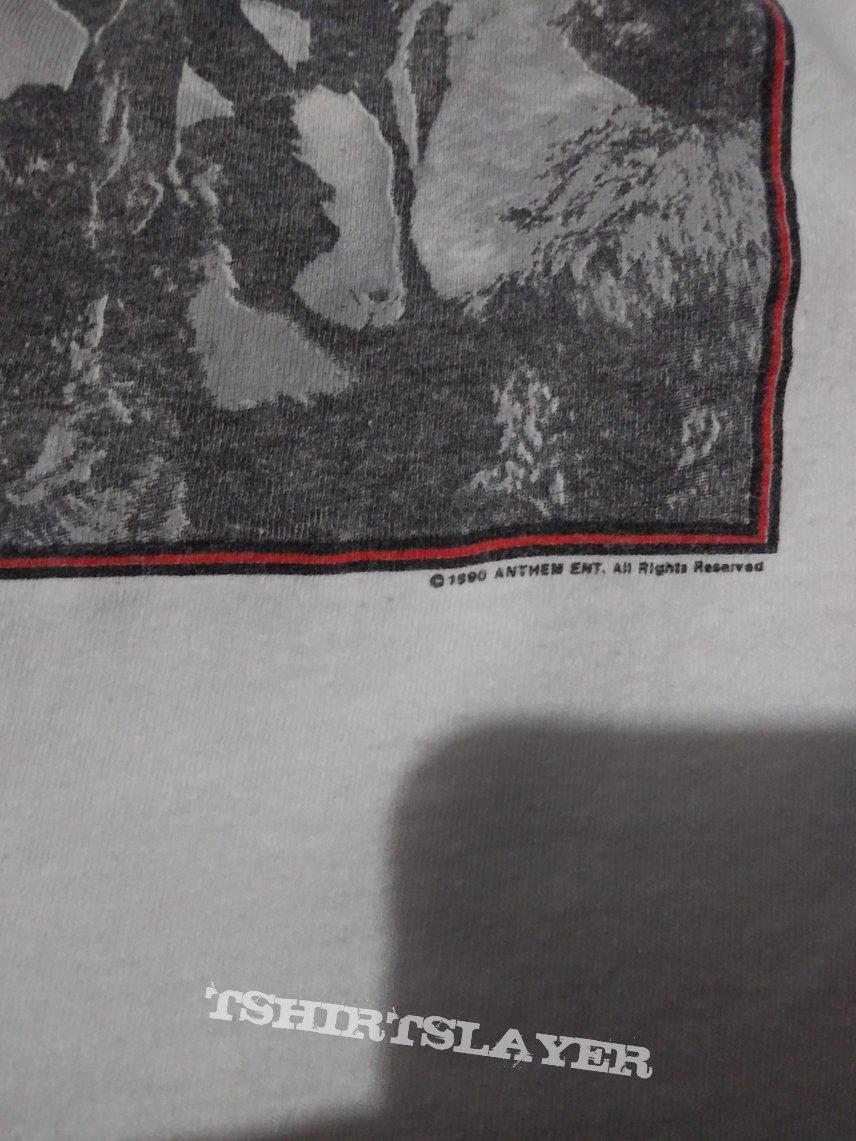 Rush presto tour shirt 1990