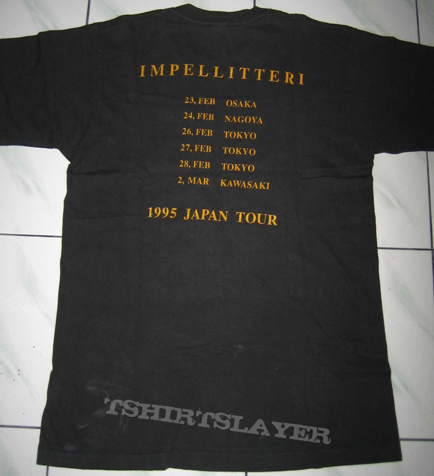 TShirt or Longsleeve - Impellitteri - Answer to the Master tour japan 1995