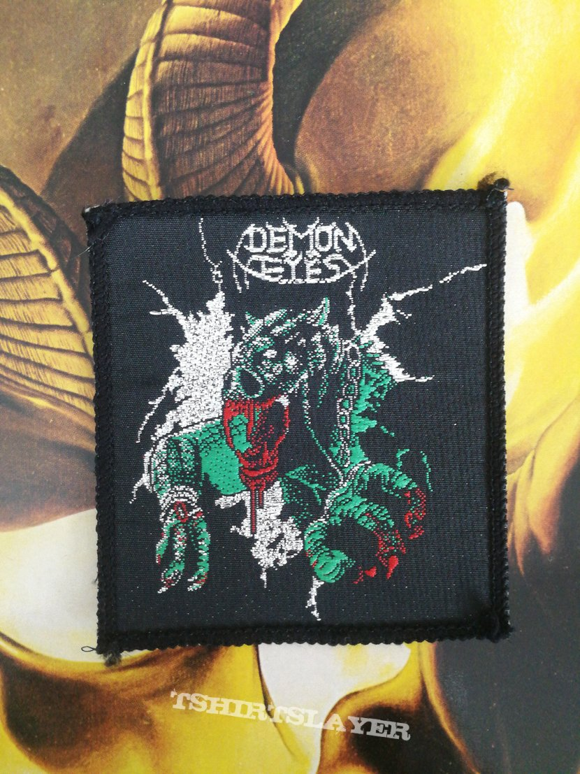 Demon Eyes - Rites of Chaos Vintage Patch