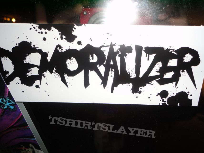Other Collectable - White Demoralizer Sticker