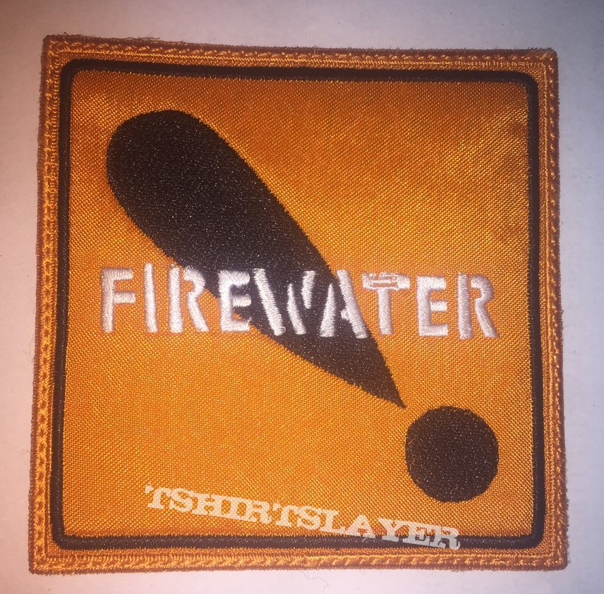 Firewater International Orange Patch