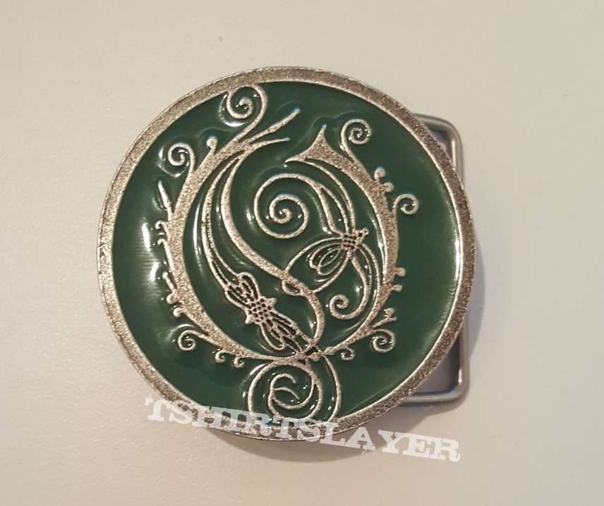 Opeth Logo Belt Buckle