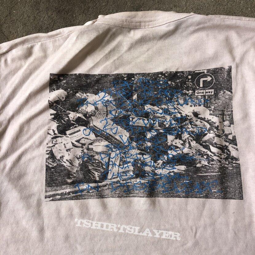 Dystopia 1994 euro tour shirt