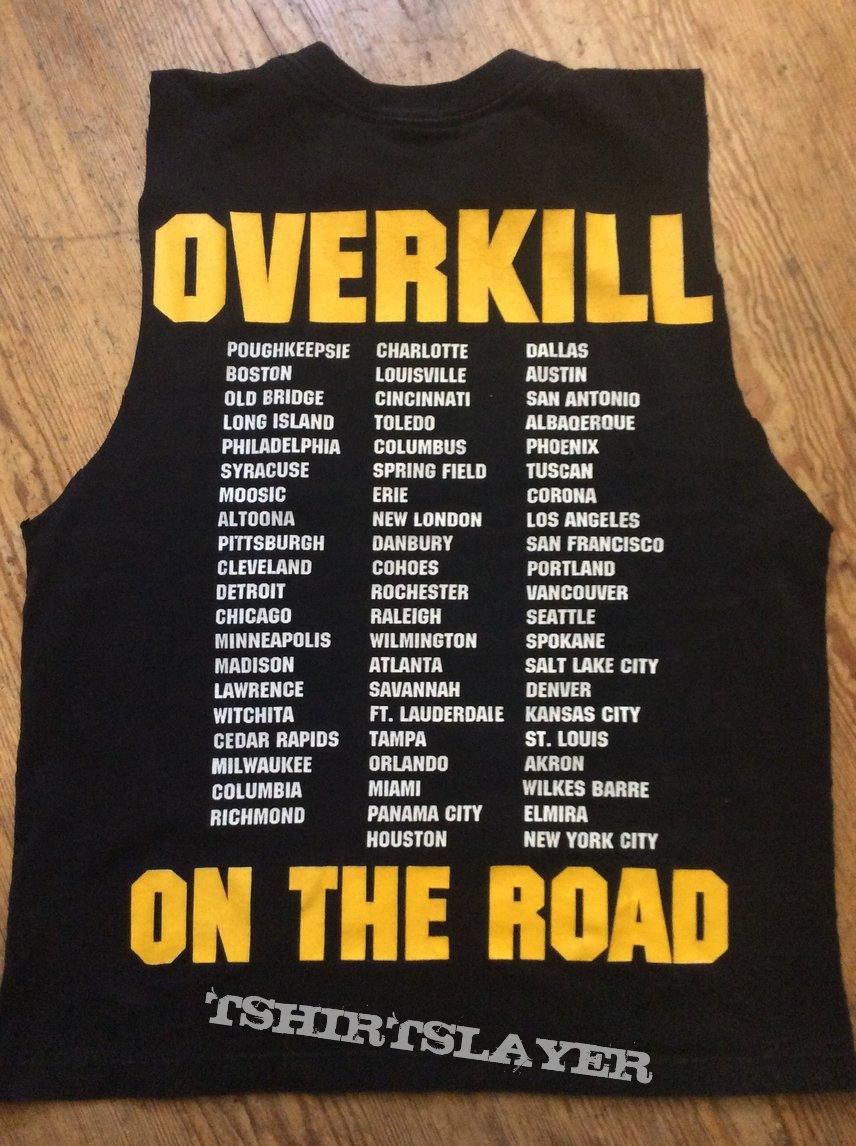 Overkill Tour Shirt