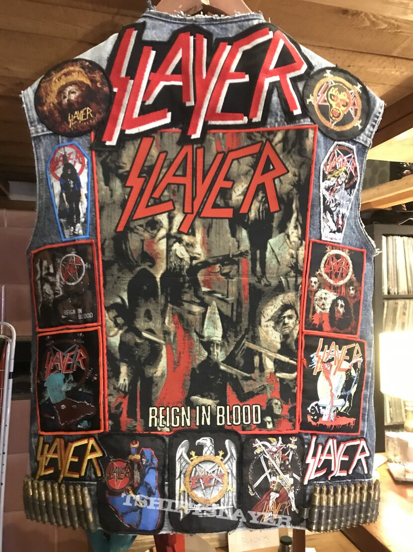 New Slayer tribute vest