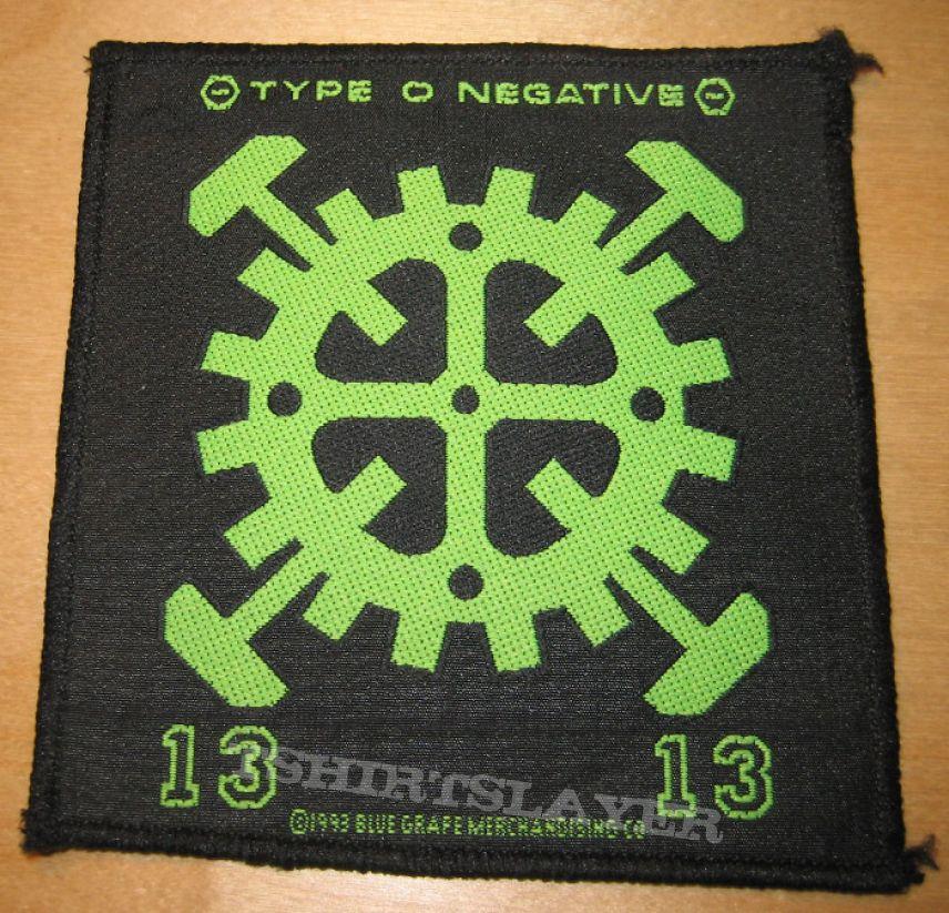 Patch - Type O Negative - Cogwheel patch