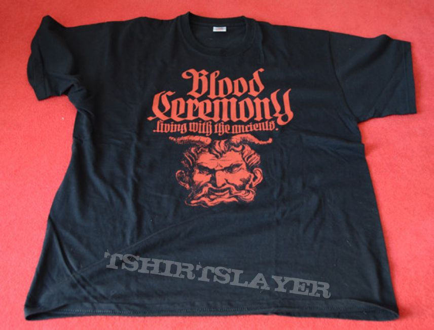 TShirt or Longsleeve - Blood Ceremony - Living with the Ancients Shirt