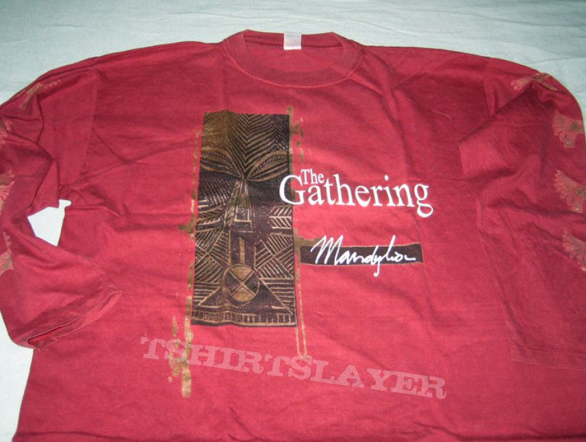 The Gathering Mandylion Shirt Tshirtslayer Tshirt And