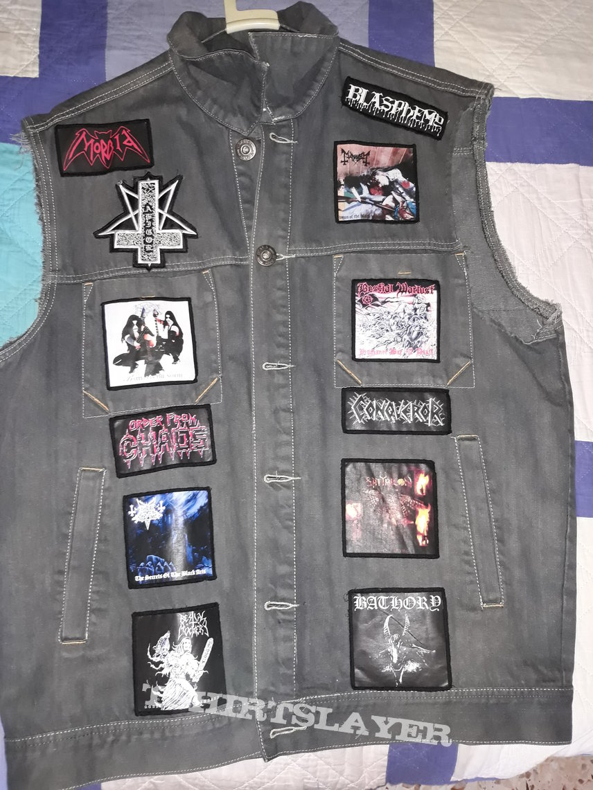 Dark gray battle jacket