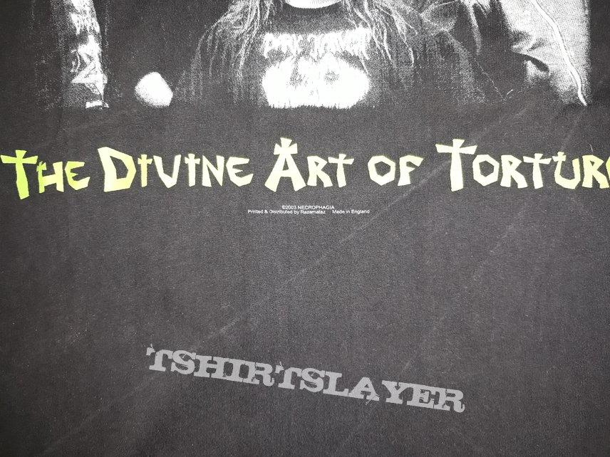 Necrophagia The Divine art of torture
